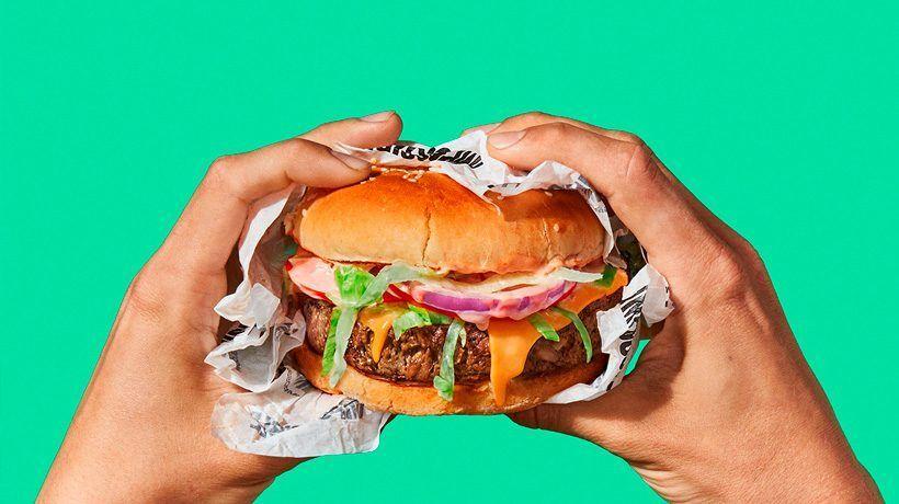 La hamburguesa vegana que sangra 1
