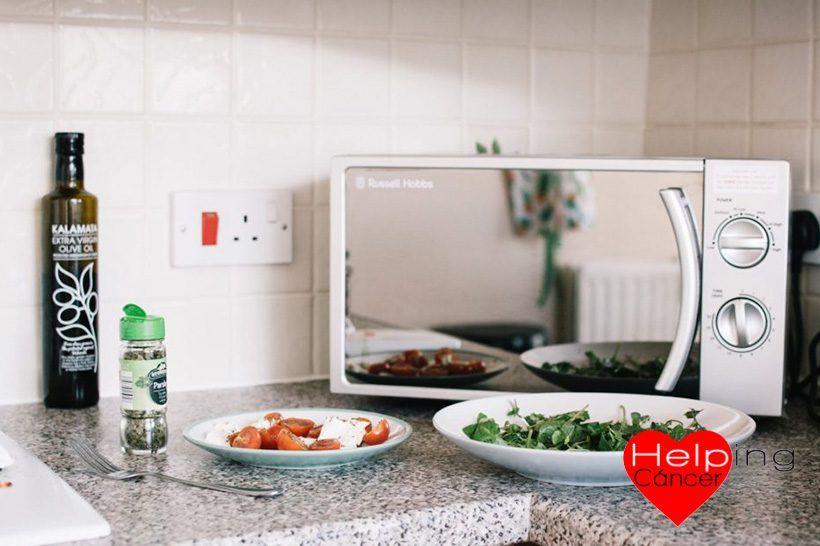 Calentar la comida en el microondas no provoca cáncer 1
