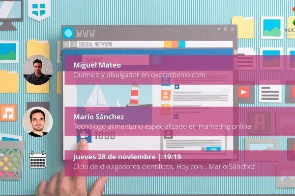 Ciclo de divulgación científica con Andrés García y Miguel Mateo 2