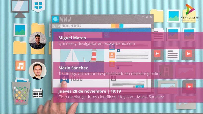 Ciclo de divulgación científica con Andrés García y Miguel Mateo 1